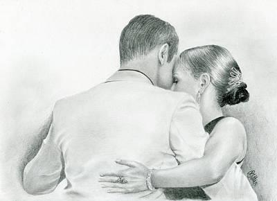 Drawing - Tango by Bitten Kari