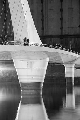 Photograph - Tango Bridge by Silvia Bruno