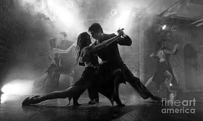 Photograph - Tango Buenos Aires 1 by Bob Christopher