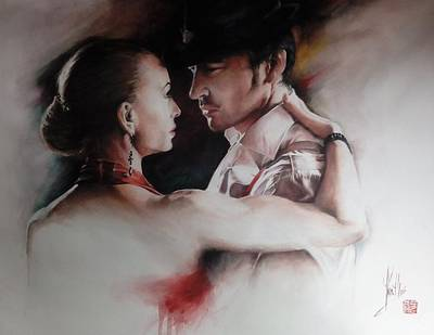 Painting - Tango Connection by Alan Kirkland-Roath