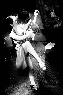 Photograph - Tango Couple #2 by David Chasey