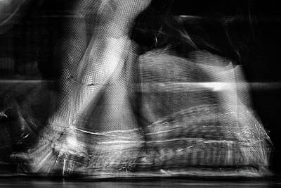 Photograph - Tango Dancer Abstract #2 - Buenos Aires by Stuart Litoff