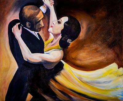 Painting - Tango De Argentina by Jenny anne Morrison