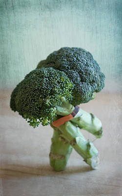Broccoli Photograph - Tango Dip by Maggie Terlecki
