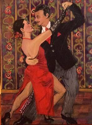 Painting - Tango by Fran Steinmark