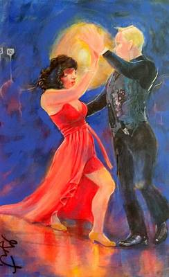 Painting - Tango by Gertrude Palmer