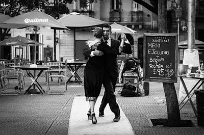 Photograph - Tango In The Plaza by Jose Vazquez