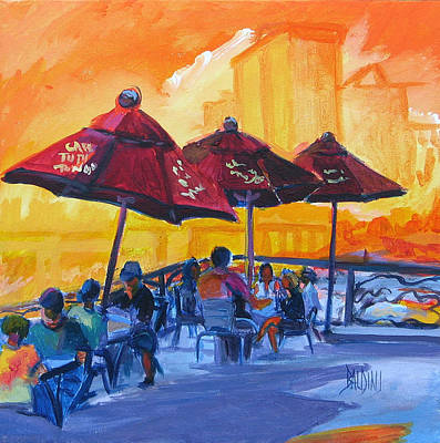 Painting - Tango by J R Baldini