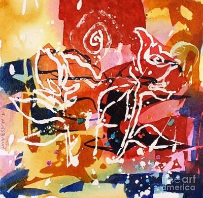 Painting - Tango by John Nussbaum
