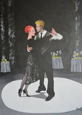 Painting - Tango by Jorge Parellada