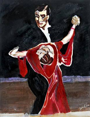 Painting - Tango by Julie Komenda