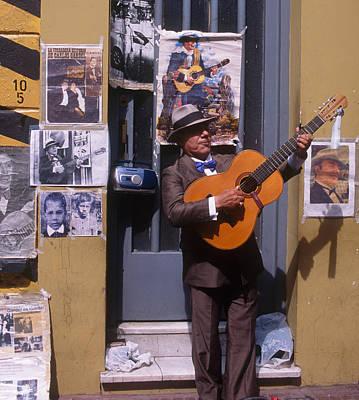 Tango Man  Argentina Art Print