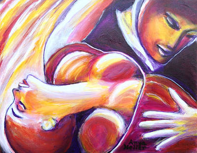 Painting - Tango Passion by Anya Heller