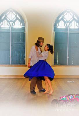 Colonial Man Photograph - Tango Practice by Al Bourassa