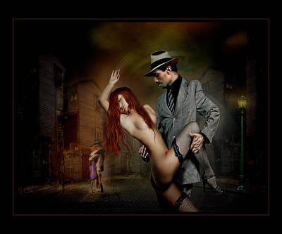 Villalba Photograph - Tango Salvaje by Raul Villalba