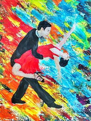 Painting - Tango Sensation by Anne Sands
