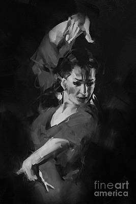 Dancing Painting - Tango Step by Gull G