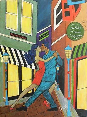 Atlanta City Painting - Tango by Stephen Harrelson