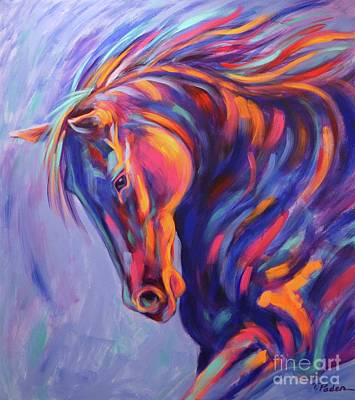Theresa Paden Painting - Tango by Theresa Paden