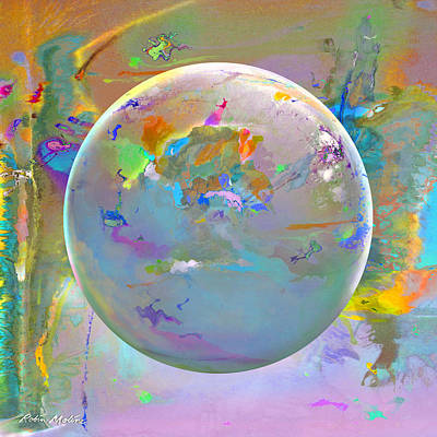 Digital Art - Tango With Light  by Robin Moline
