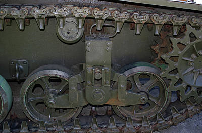 Photograph - Tank Gears by Tikvah's Hope