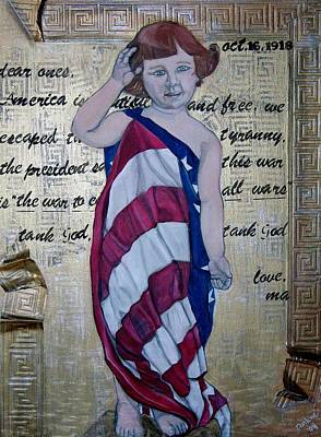 Ellis Island Painting - Tank God by Darlene Graeser