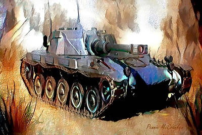 Digital Art - Tank by Pennie McCracken