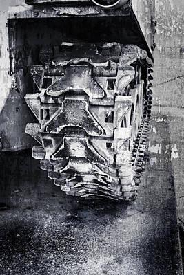 Photograph - Tank Tracks by Debra Forand