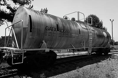 Photograph - Tanker by James L Bartlett