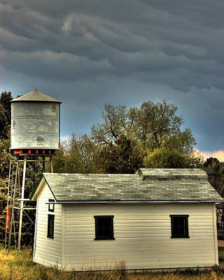 Photograph - Tankhouse by Kevin Munro