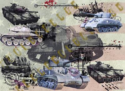 Photograph - Tanks by Ken Frischkorn