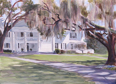 Spanish Moss Painting - Tannahill by Christopher Reid