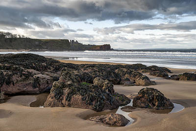 Photograph - Tantallon Castle by Jeremy Lavender Photography