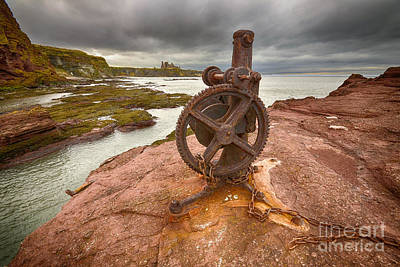 Tantallon Castle Views Print by Nichola Denny