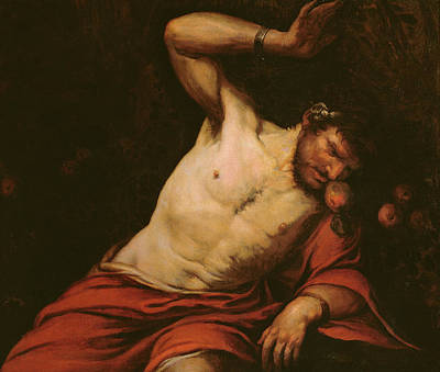 Torment Painting - Tantalus by Giambattista Langetti