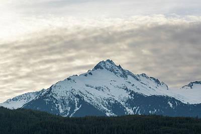 Photograph - Tantalus Mountain Range Closeup by David Gn
