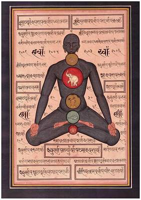 Tantra Painting - Tantra Chakra by Tantric Baba