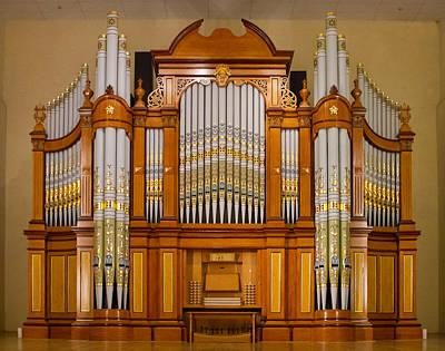 Photograph - Tanunda Pipe Organ by Jenny Setchell