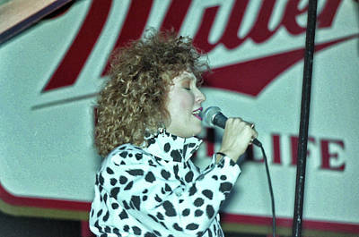 Tanya Tucker Photograph - Tanya On Miller High Life Stage by Mike Martin