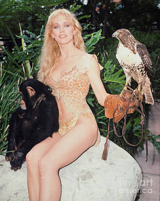 Tanya Roberts As Queen Sheena Art Print by MMG Archives