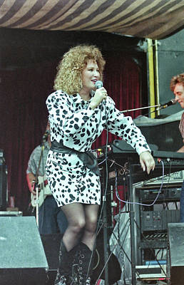 Tanya Tucker Photograph - Tanya Tucker 1989 by Mike Martin