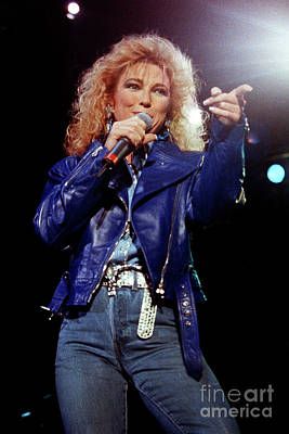 Tanya Tucker Photograph - Tanya Tucker-93-0665 by Timothy Bischoff