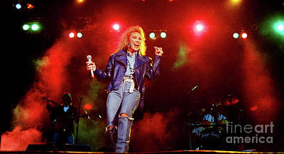 Tanya Tucker Photograph - Tanya Tucker-93-0677 by Timothy Bischoff