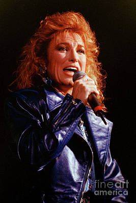 Tanya Tucker Photograph - Tanya Tucker-93-0686 by Timothy Bischoff