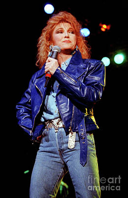 Tanya Tucker Photograph - Tanya Tucker-93-0689 by Timothy Bischoff