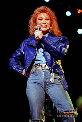 Tanya Tucker Photograph - Tanya Tucker-93-0690 by Timothy Bischoff