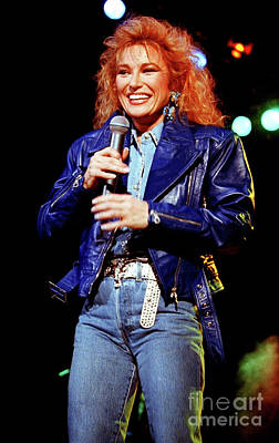 Tanya Tucker Photograph - Tanya Tucker-93-0691 by Timothy Bischoff