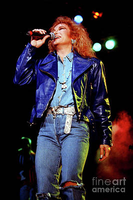 Tanya Tucker Photograph - Tanya Tucker-93-0692 by Timothy Bischoff