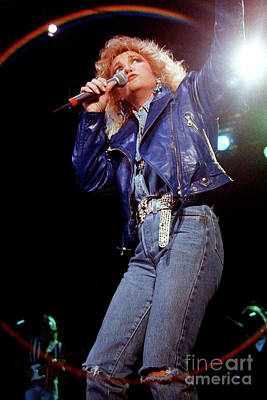 Tanya Tucker Photograph - Tanys Tucker-93-0674 by Timothy Bischoff