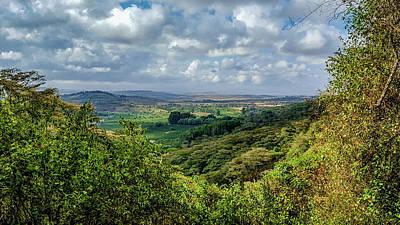 Photograph - Tanzania Landscape by Marilyn Burton